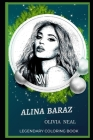 Alina Baraz Legendary Coloring Book: Relax and Unwind Your Emotions with our Inspirational and Affirmative Designs Cover Image