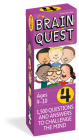 Brain Quest Grade 4, Revised 4th Edition: 1,500 Questions and Answers to Challenge the Mind (Brain Quest Decks) Cover Image