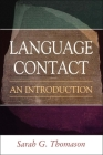 Language Contact: An Introduction Cover Image