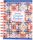 Quilty Coupon Keeper: Bonnie K. Hunter's Coupon Organizer with 16 Handy Pockets Cover Image