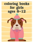 Coloring Books For Girls Ages 8-12: Christmas gifts with pictures of cute animals (American Animals #12) Cover Image