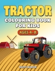 Tractor Colouring Book Cover Image