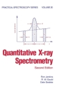 Quantitative X-Ray Spectrometry (Practical Spectroscopy #20) Cover Image