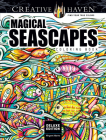 Creative Haven Deluxe Edition Magical Seascapes Coloring Book (Creative Haven Coloring Books) Cover Image
