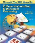 Microsoft (R) Word 2003 Manual for College Keyboarding & Document Processing (Gdp) Cover Image