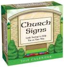 Church Signs 2019 Day-to-Day Calendar Cover Image