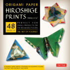 Origami Paper - Hiroshige Prints - Small 6 3/4 - 48 Sheets: Tuttle Origami Paper: High-Quality Origami Sheets Printed with 8 Different Designs: Instru Cover Image
