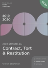 Core Statutes on Contract, Tort & Restitution 2019-20 Cover Image