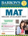 Barron's MAT: Miller Analogies Test Cover Image