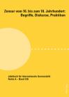 Zensur Vom 16. Bis Zum 18. Jahrhundert: Begriffe, Diskurse, Praktiken (Jahrbuch Fuer Internationale Germanistik #136) Cover Image