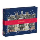 Liberty London Tudor Building 750 Piece Shaped Puzzle Cover Image