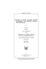 Reform of major weapons system acquisition and related legislative proposals Cover Image