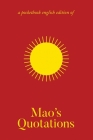 Mao's Quotations: Quotations from Mao Tse-Tung/The Little Red Book Cover Image