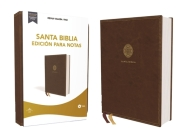 Reina Valera 1960 Santa Biblia Edición Para Notas, Leathersoft, Café, Letra Roja Cover Image