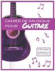 Cahier de musique pour Guitare: Tablatures et Portées, Guitare Acoustique rose Cover Image
