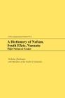 A Dictionary of Nafsan, South Efate, Vanuatu: M̃p̃et Nafsan Ni Erakor (Oceanic Linguistics Special Publications #41) Cover Image