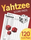 Yahtzee Score Pads: Large size 8.5 x 11 inches 120 Pages Dice Board Game YAHTZEE SCORE SHEETS Yatzee Score Cards Yahtzee score book Vol.4 Cover Image