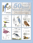 50 Bird Woodcarving Patterns Cover Image