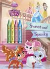 Sweet and Spunky [With Crayons] Cover Image