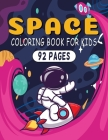 Space Coloring Book For Kids: Coloring Book Gift For Kids Cover Image