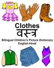 English-Hindi Clothes Bilingual Children's Picture Dictionary Cover Image