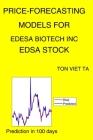 Price-Forecasting Models for Edesa Biotech Inc EDSA Stock Cover Image