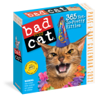 Bad Cat Page-A-Day Calendar 2022: 365 Not So Pretty Kitties Cover Image