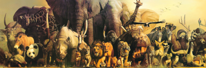 Fine Art Panoramic Noah's Ark 1000 Pieces Cover Image