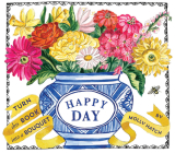 Happy Day (UpLifting Editions): A Bouquet in a Book Cover Image