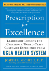 Prescription for Excellence: Leadership Lessons for Creating a World-Class Customer Experience from UCLA Health System Cover Image