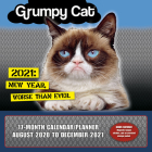 2021 Grumpy Cat(r) 17-Month Wall Calendar/Planner Cover Image