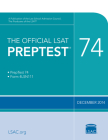 The Official LSAT Preptest 74: (dec. 2014 Lsat) Cover Image