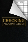 Checking Account Ledger: budgeting, expense tracker, 6 Column Payment Record And Tracker Log Book - General Business Ledger Checking Account Tr Cover Image