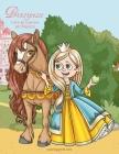 Principesse Libro da Colorare per Ragazze Cover Image