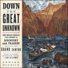 Down the Great Unknown: John Wesley Powell's 1869 Journey of Discovery and Tragedy Through the Grand Canyon Cover Image