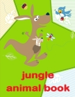 Jungle Animal Book: coloring pages with funny images to Relief Stress for kids and adults Cover Image