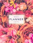 Weekly Planner 2019: Floral Planner - 8.5 X 11 in - 2019 Organizer with Bonus Dotted Grid Pages, Inspirational Quotes + To-Do Lists - Beaut Cover Image
