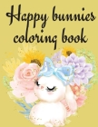 Happy Bunnies Coloring Book Cover Image