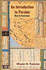 Introduction to Persian, Revised Fourth Edition, Key to Exercises Cover Image