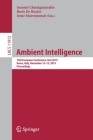 Ambient Intelligence: 15th European Conference, Ami 2019, Rome, Italy, November 13-15, 2019, Proceedings Cover Image