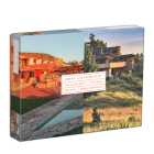 Frank Lloyd Wright Taliesin and Taliesin West 500 Piece Double-Sided Puzzle Cover Image