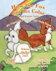 How the Fox Got His Color Bilingual Armenian English Cover Image