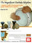 The Magnificient Darbuka Rhythms: A Beginner's Guide to Learning How to Play Popular Middle Eastern Rhythms [With CD] Cover Image