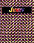 120 Page Handwriting Practice Book with Colorful Alien Cover Jenny: Primary Grades Handwriting Book Cover Image