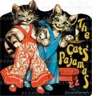 Cats' Pajamas (Shape Books) Cover Image