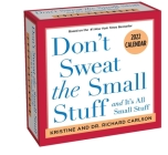Don't Sweat the Small Stuff 2022 Day-to-Day Calendar Cover Image