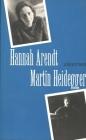 Hannah Arendt/Martin Heidegger Cover Image