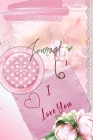 Journal for Women -For Girls -For Moms 122 pages -6x9 Inches-: pink flower themed pages Cover Image