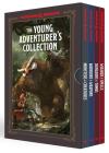The Young Adventurer's Collection [Dungeons & Dragons 4-Book Boxed Set]: Monsters & Creatures, Warriors & Weapons, Dungeons & Tombs, and Wizards & Spells (Dungeons & Dragons Young Adventurer's Guides) Cover Image