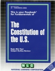 THE CONSTITUTION OF THE U.S.: Passbooks Study Guide (Fundamental Series) Cover Image